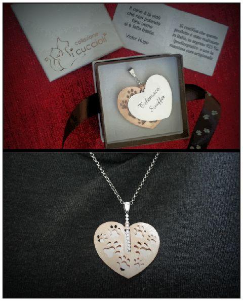 Il gioiello Personalizzato per San Valentino con inciso il nome del tuo amore peloso....