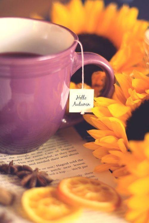 Tea...Hello Autumn!