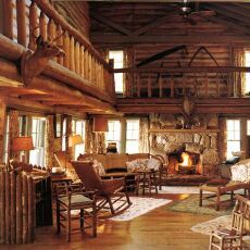 29 best Cabin Style homes images on Pinterest Rustic Decorating Information by Forest Home Rustic Decor Art Prints    Rustic Cabin  Lodge Style. Cabin Style Living Room. Home Design Ideas