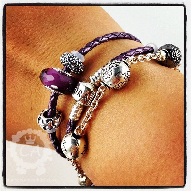 Leather Wrap Bracelet With Charms: 1000+ Ideas About Pandora Leather Bracelet On Pinterest