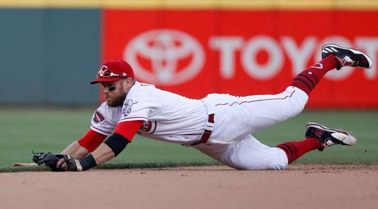 2017 MLB All-Star Game starters  -  July 2, 2017:    SS - Zack Cozart, Cincinnati Reds