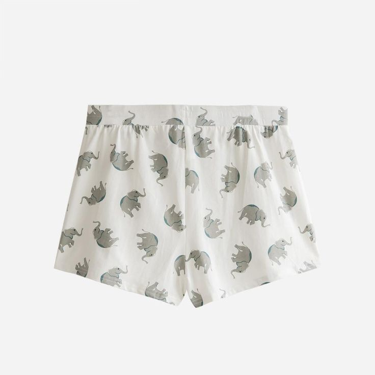 Summer Fashion Women Apparel Elephant Animal Print Shorts Cotton Elastic Waist Casual Loose Pajama Shorts  #fashion #style #design #shopping #fashionaddict #swag #australianbrand #amazing #haute #shoppingaddict