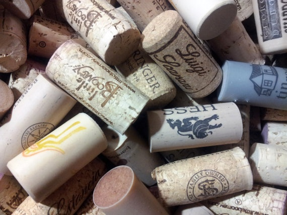 Used 50 Wine Cork Tops for DIY Crafts & Projects by UpcycleFever, $6.50