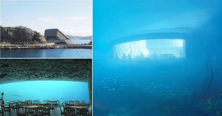 This Underwater Restaurant In Europe Is Amazing For A Special Dinner  This unique underwater restaurant concept was designed and made from an architecture company named Snøhetta and this wonderful construction is the Europe's first underwater restaurant.  #Under #UnderwaterRestaurant #Norway #Båly #Travel #Restaurant #Europe #architecture #building #architexture #buildings #design #art #arts #architecturelovers #abstract #beautiful #archilovers #architectureporn #archidaily #composition