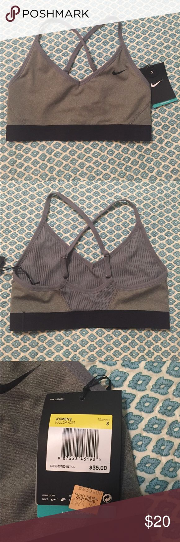 Nike sports bra Nike Sports Bra light support size small Nike Intimates & Sleepwear Bras