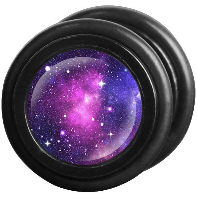 "Set di falsi #Plug ""Galaxy"" di #Wildcat. Materiale: acciaio inossidabile. Ø: 11 mm. Spessore perno: 1,2 mm."