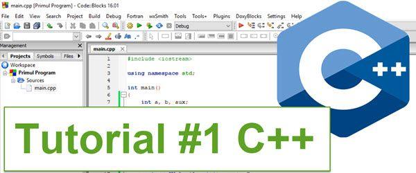 Tutorial de introducere în tainele limbajelor de programare - învață cum se programează cu pași mici - Introducere în programare - tutorial C++ - cursul 1 #videotutorial #programare #C++