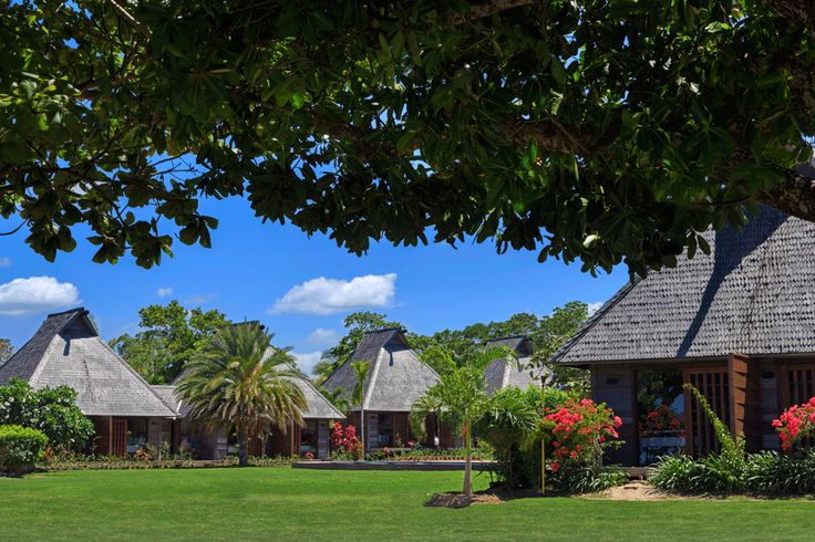 The lush tropical gardens at Yatule Resort and Spa!