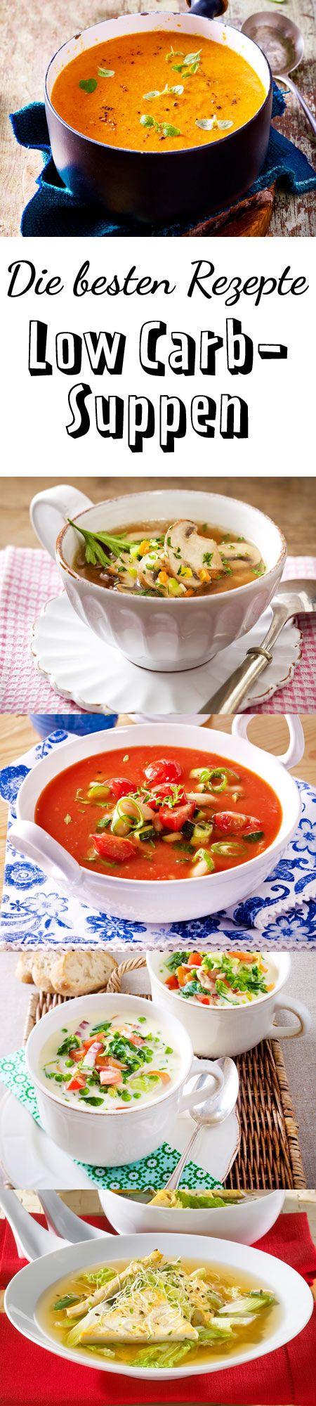 Leichte Gerichte zum Löffeln - wir lieben #lowcarb Suppe!