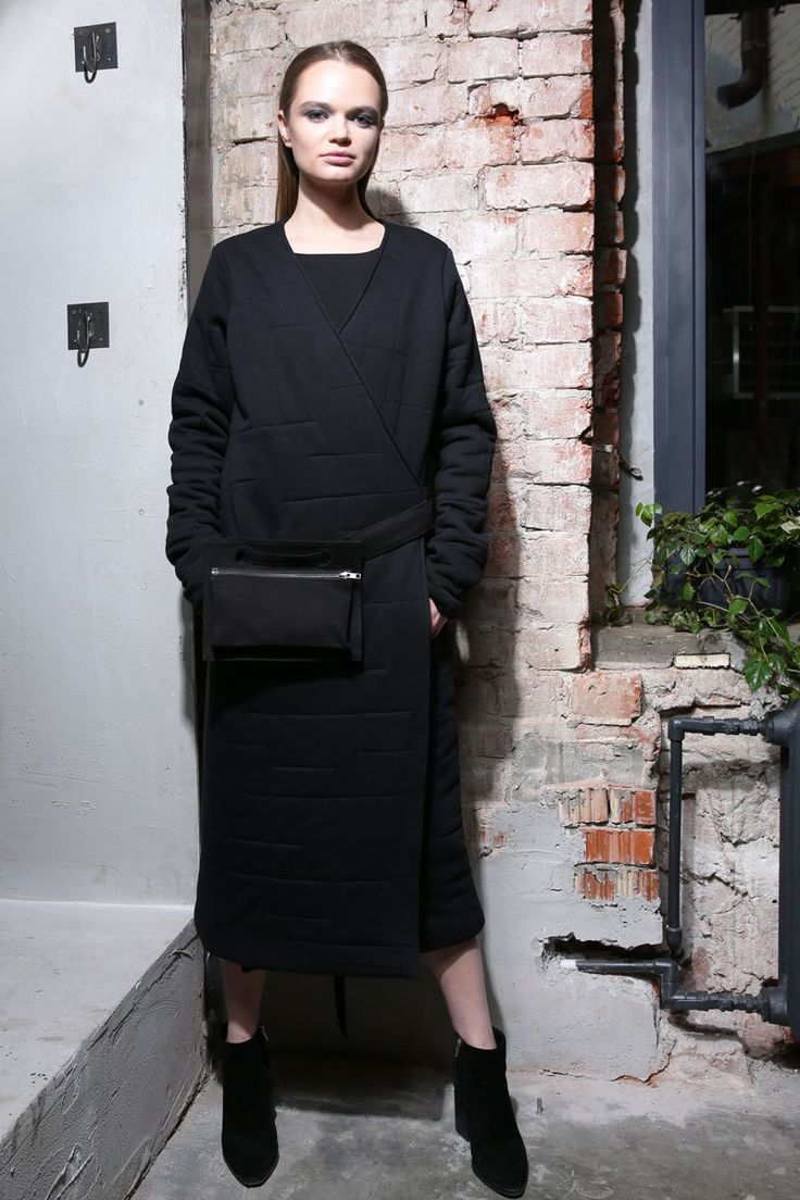 Black semi-coat    #mariashi #fashion #russiandesigners #nofilter #outfit #outfitoftheday #outfits #outfitpost #clothes #fashionista #fashiondesigner #shopping