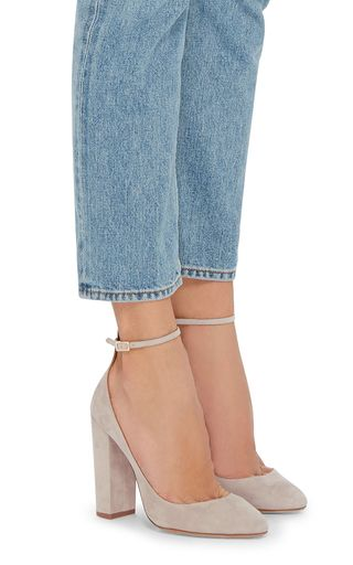 Alix Suede Pumps by Aquazzura | Moda Operandi