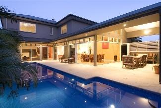 Outdoor living design. Gold Coast. Beautiful
