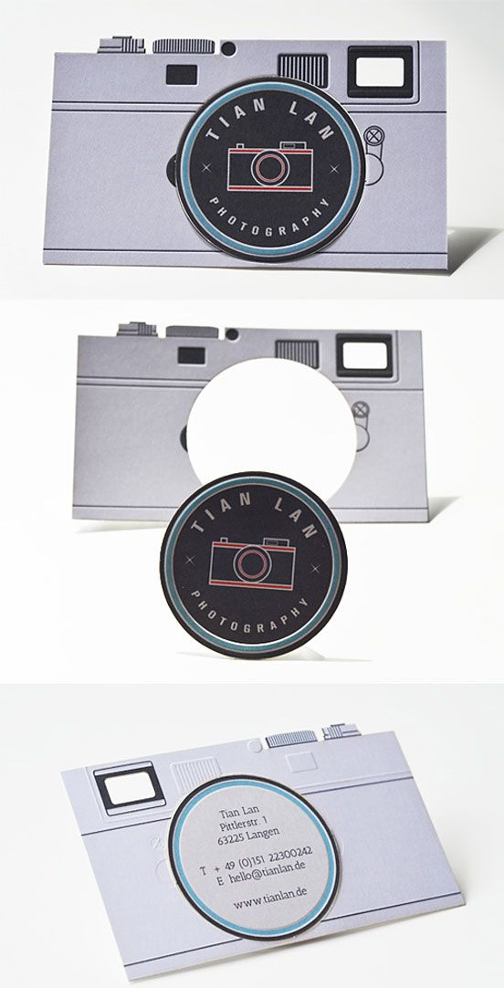 Camera-Shaped Design