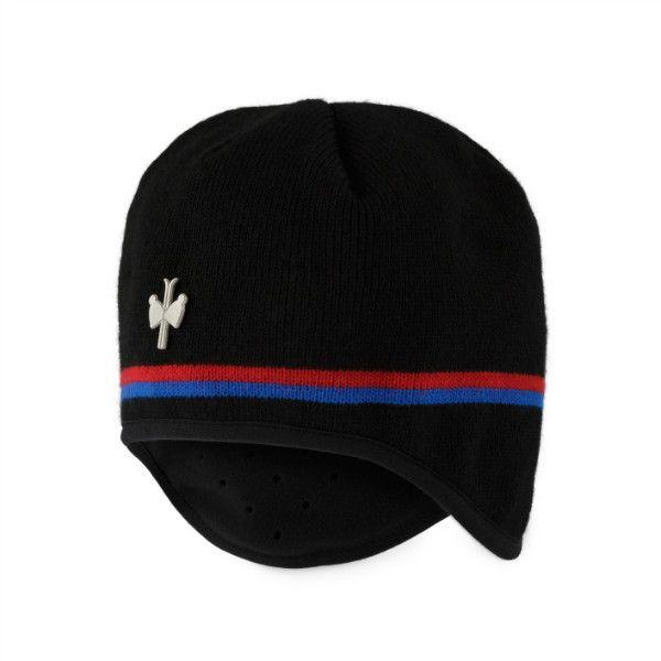 Bonnet Argas avec un bandeau en Windstopper® et 2 liserés contrastés. Idéal sur les pistes de ski de fond. #pipolaki #hat #accessories #vintage #fashion