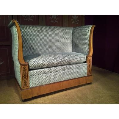 Petit canap d 39 alcove d 39 poque charles x history for Canape history