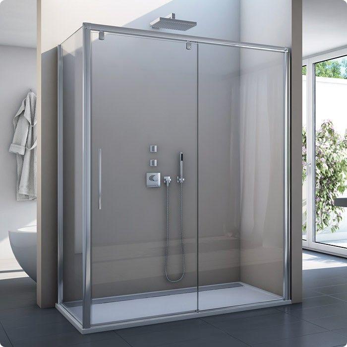 duschkabine schiebetr seitenwand ab 120 x 70 x 200 cm dusche maanfertigung sonderhhe bis 2000 mm dusche nach ma sonderbreite tr 1000 bis 2000 mm dusche - Dusche Glastur Nach Mas 2