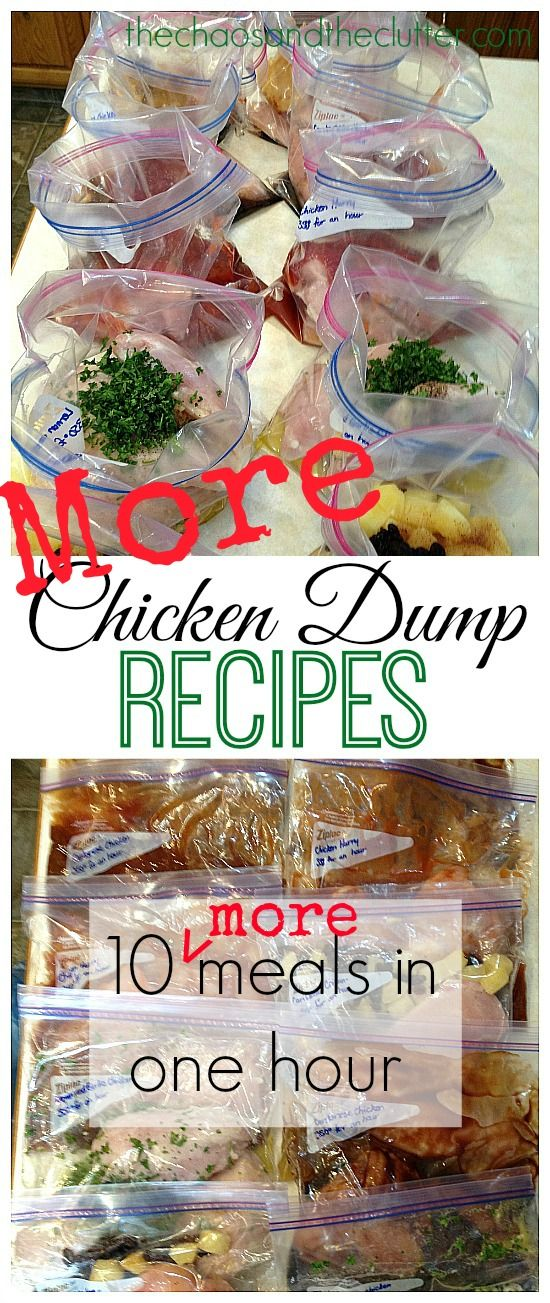 5 More Chicken Dump Recipes