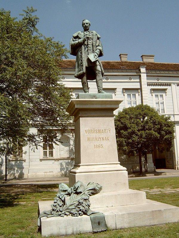 Vörösmarty szobor- Székesfehérvár, Hungary
