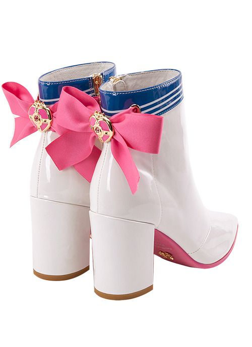 "69a982a567248 peachblushparlour: ""Sailor Moon Crystal Cosmic Power Brooch ankle heel ""  @bloomsandbombshells 