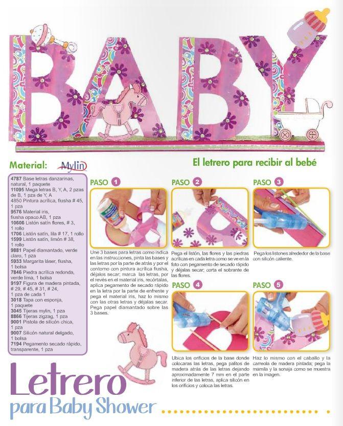 Decoración para baby shower ¡Hazlo tú mismo!