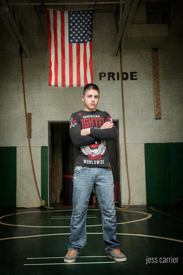 Wrestling Senior Photo