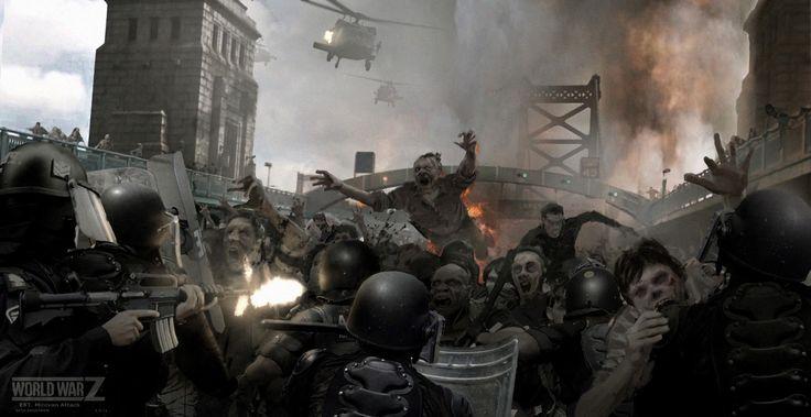World War Z concept artwork