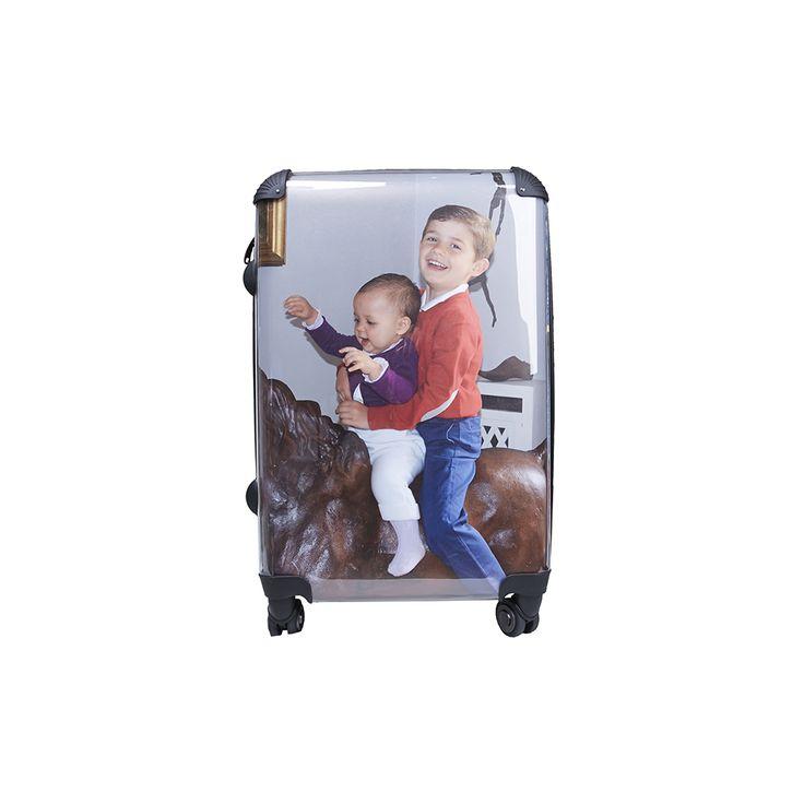 Valise grand format - personnalisée avec des photos - interchangeables - 3 tailles - by Matao