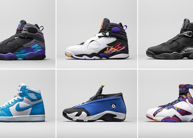 Jordan Brand Holiday '15 Retro line ...