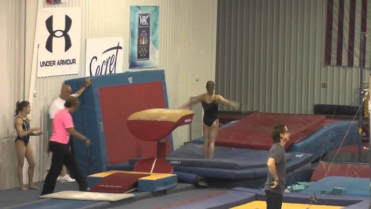 Brenna Dowell's been working on some big skills! She debuted an Amanar, a DLO, AND a full-twisting DLO at the May national team training camp.