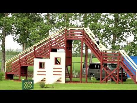 Dog Obstacle Confidence Course - YouTube