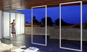 27 best backsplash images on pinterest backsplash ideas for Exterior sliding glass walls
