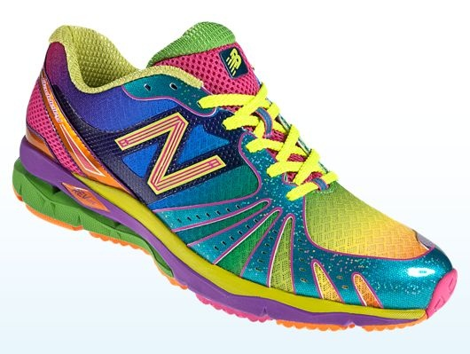 New Balance Rainbow Reflective Shoes