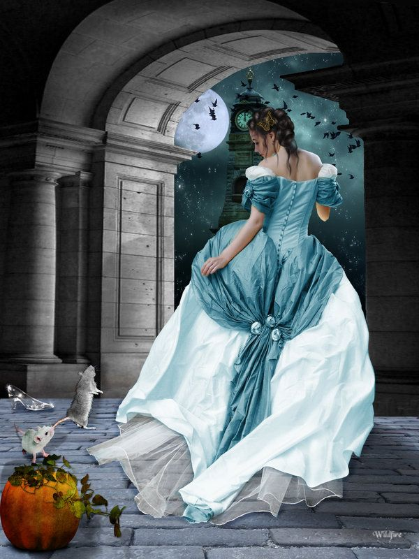 Cinderella -Curses, she thought. Should've gone with the zucchini.