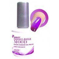 Nobility Perfect Match Midnight Pearl Frost LeChat Perfect Match Mood Color Changing Gel Polish  Love this!