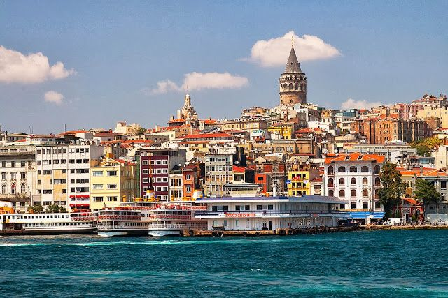 Galata Tower in one of the historic places in Istanbul