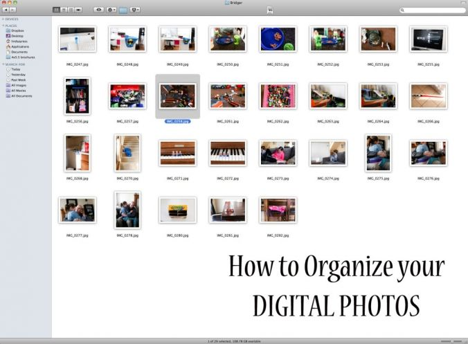 How To Manage and Organize Your Digital Photos