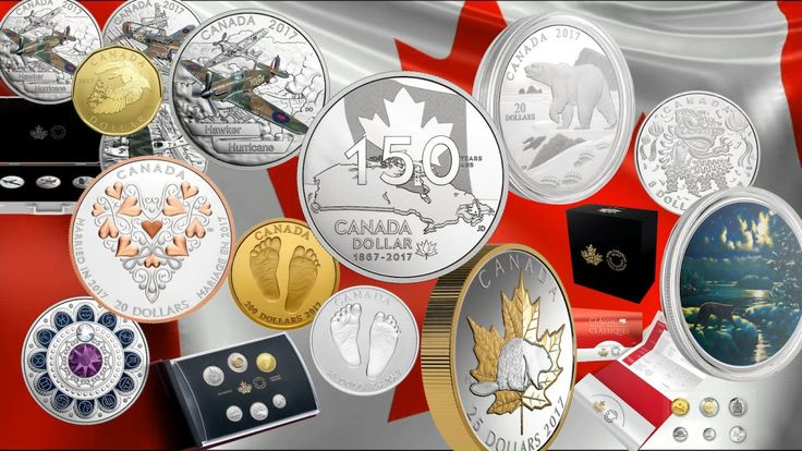 New Gold and Silver Coins From Canadian Mint for January 2017