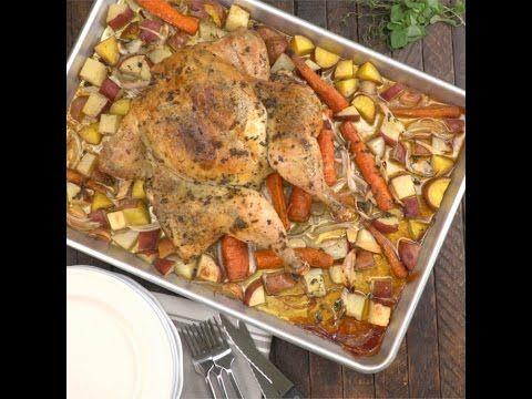 Fokhagymás, fűszeres csirke zöldség ágyon - Gluténmentes zóna