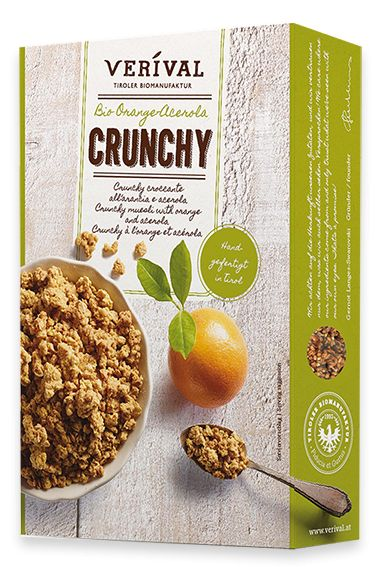 VERIVAL Orange-Acerola Crunchy - Bild: VERIVAL