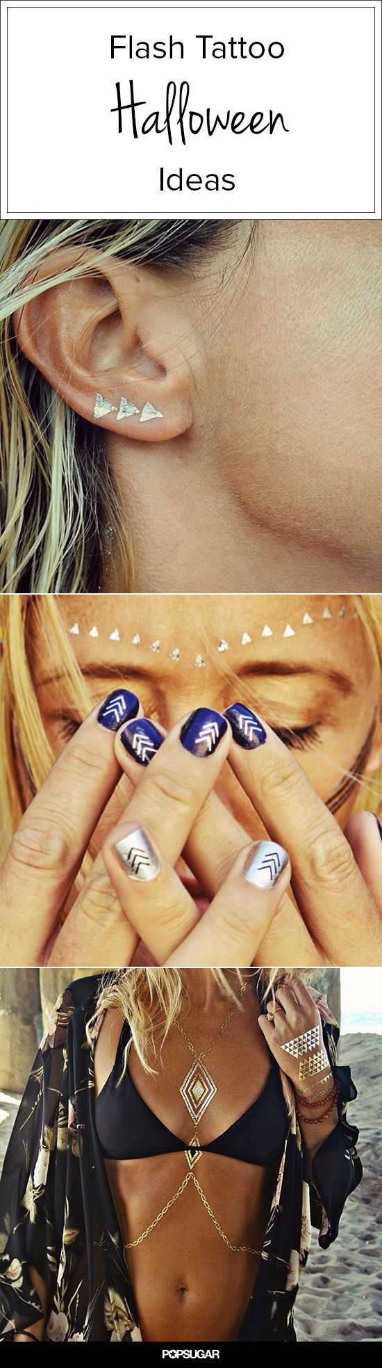 Meet Miranda Burnet, the Genius Entrepreneur Behind Flash Tattoos - Plus #Halloween Inspiration!
