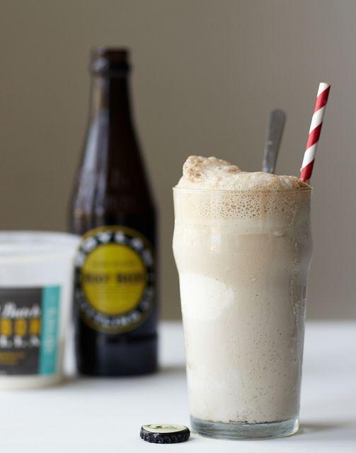 Bourbon Vanilla Root Beer Float