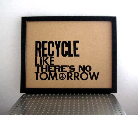 Recycling Quotes: 17 Best Images About Fun Recycling Bins & Signs On