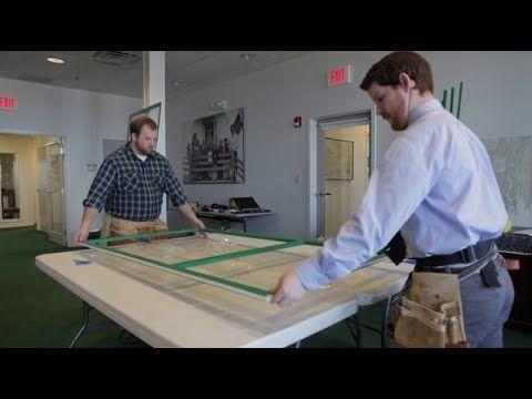 How to assemble aluminum rails and plexiglass into storm window frame.