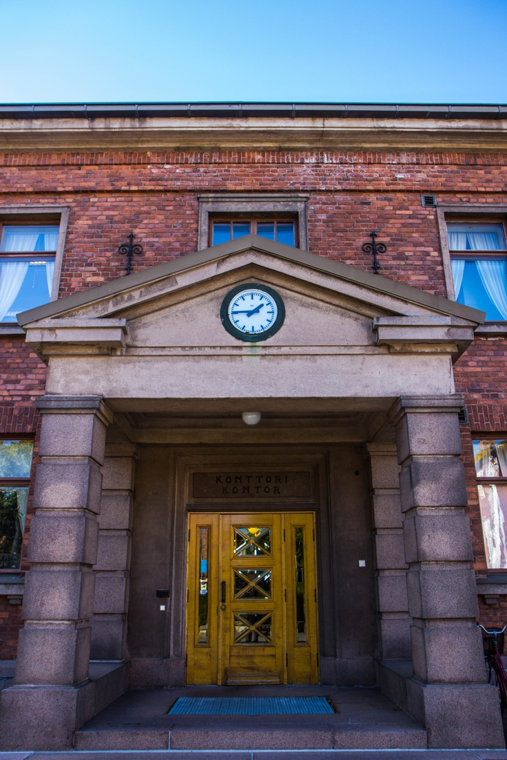 University of Vaasa / Konttori entrance. #univaasa