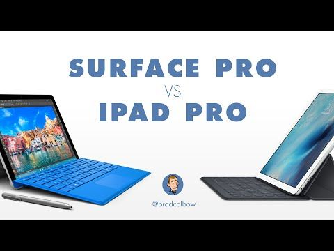 How do the iPad Pro and Microsoft Surface screens and styluses compare? Pretty similarly in some ways, vastly different in others. Here's more on the iPad Pr...