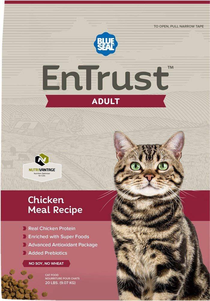 Blue Seal Entrust Chicken Meal Adult Cat Food Very Nice Of Your