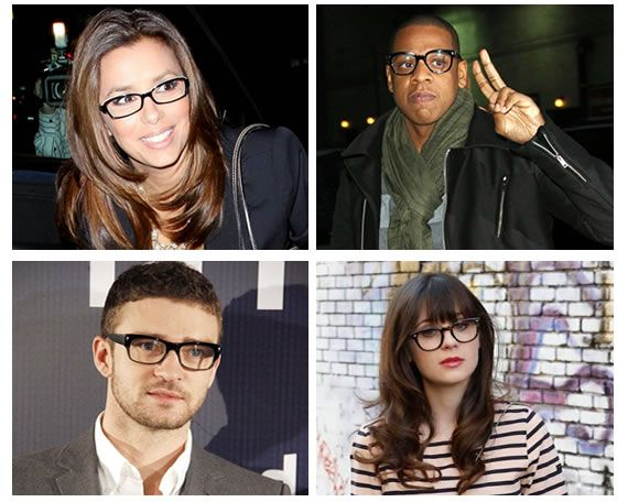 a5434970a426 5 reasons why black rim glasses will always be popular - Clearly.ca -