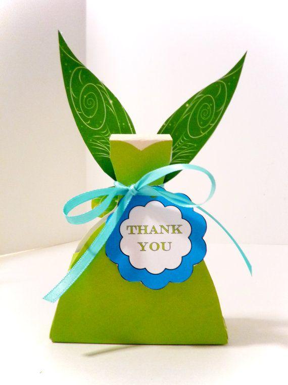 Tinkerbell Pixie Printable Party Treat Box