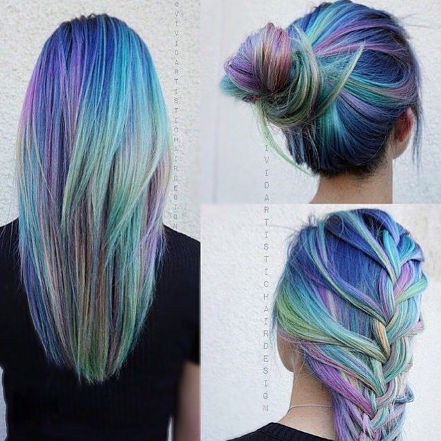 I can't tell if this is Photoshopped or not but it would be amazing to have hair like this