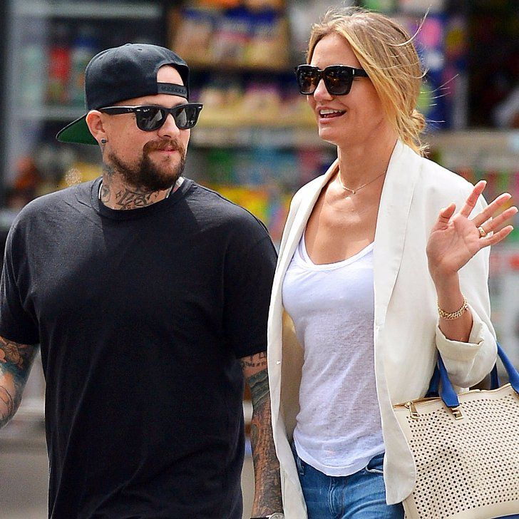 """Pin for Later: Benji Madden Calls Cameron Diaz """"Bae"""" in an Adorable Instagram Photo"""